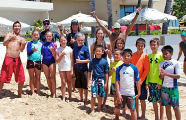 Ty Gurney Surf School Kids Programs Party Packages Group