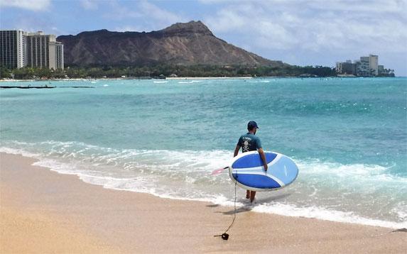 Ty Gurney Surf School Rentals SUP