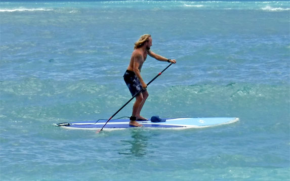 Ty Gurney Surf School Private Stand Up Paddle SUP Lessons